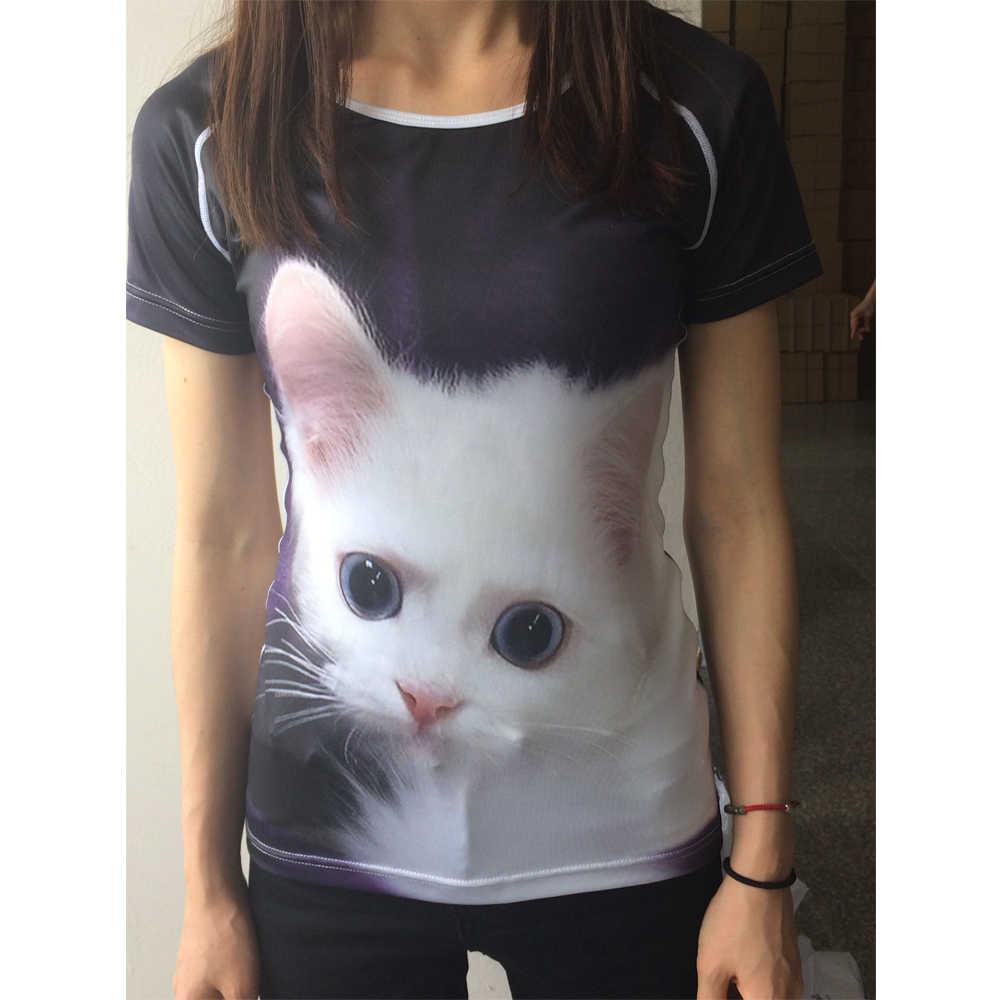 NOISYDESIGNS Harajuku Phụ Nữ Mùa Hè O Neck T Shirts Dễ Thương Động Vật Chihuahua Dog In Ấn Cô Gái Tuổi Teen Ngắn Quần Áo Thời Trang T-Shirts