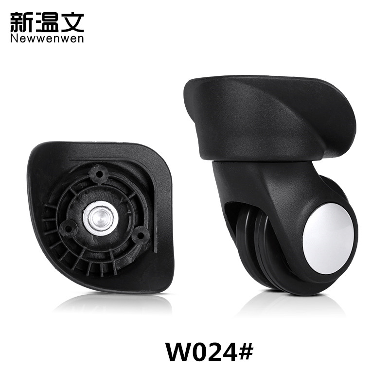 Replacement luggage wheels,Rubber Trolley Luggage Accessories,Repair Travel wheel suitcase,luggage wheel replacement W024#
