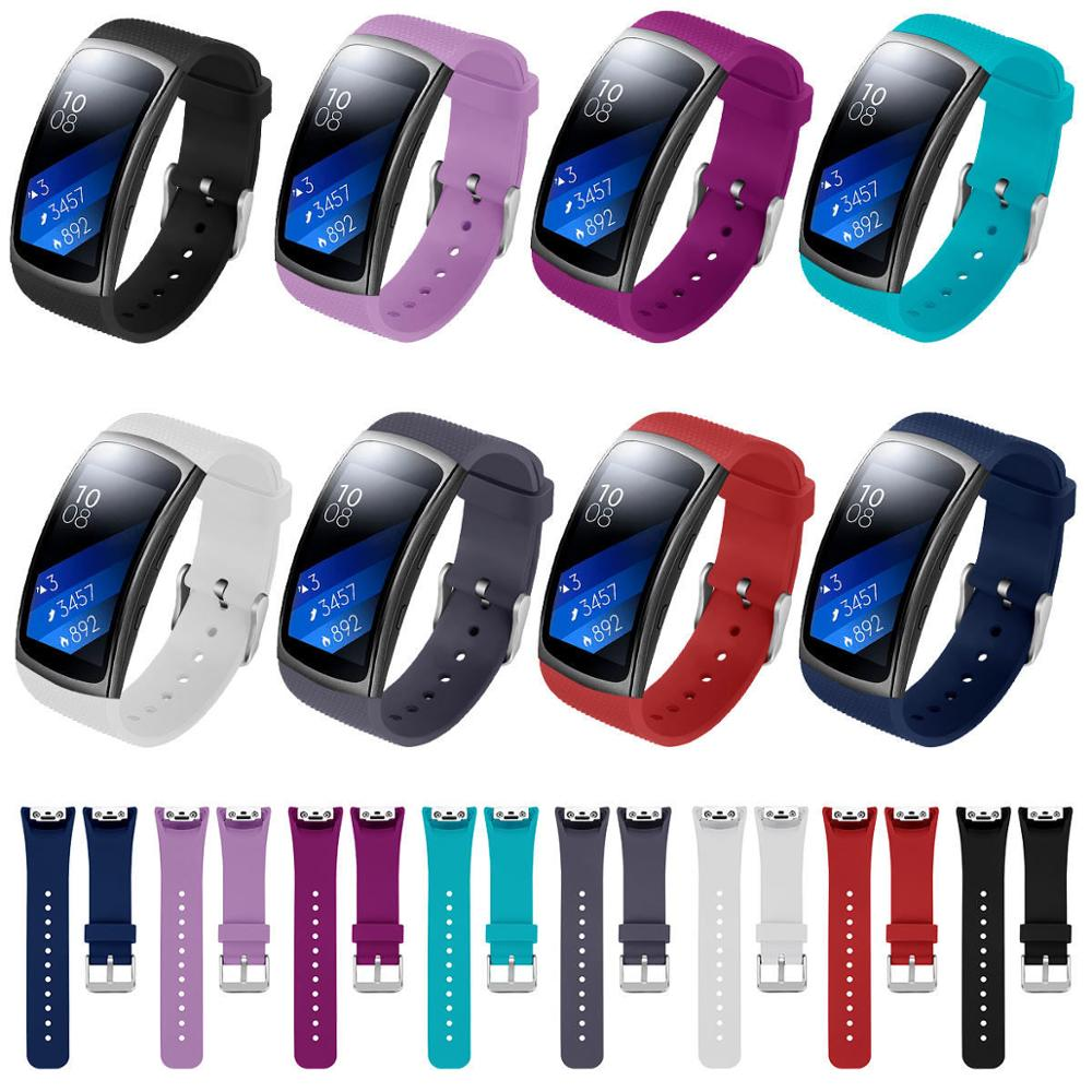 Watch Band For Samsung Gear Fit2 Pro Bands Silicone Watch Strap For Samsung Gear Fit 2  Bracelet Wristband Correa 91028