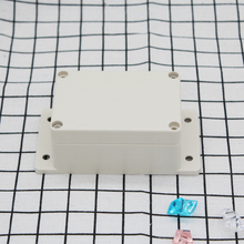 Free shipping ,With wall mounted ear or fring ip65 plastic watertight abs switch box 100*68*50mm F4-2