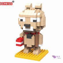 SC: Line Town Gogo  1027 Diamond Micro Nano Building Blocks Action Figure boy & girl gifts
