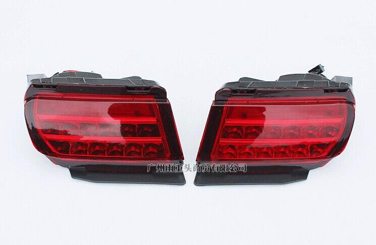 Светодиодные задние бампера света, задний противотуманный фонарь стоп-сигнал для Тойота Prado 2700/4000/LC150 2010-16, 2шт