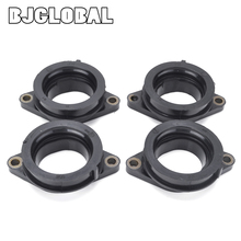 Carburetor Rubber Adapter Intake Manifold Boots For Yamaha YZF-R6 YZF R6 YZF600 RaceBase Pit Bike 2009 2014 2010 2011 2012 2013 for yamaha yzf600 r6 2008 2009 2010 2012 2013 2014 2015 2016 207 white windshield windscreen double bubble yzf 600 yzf r6