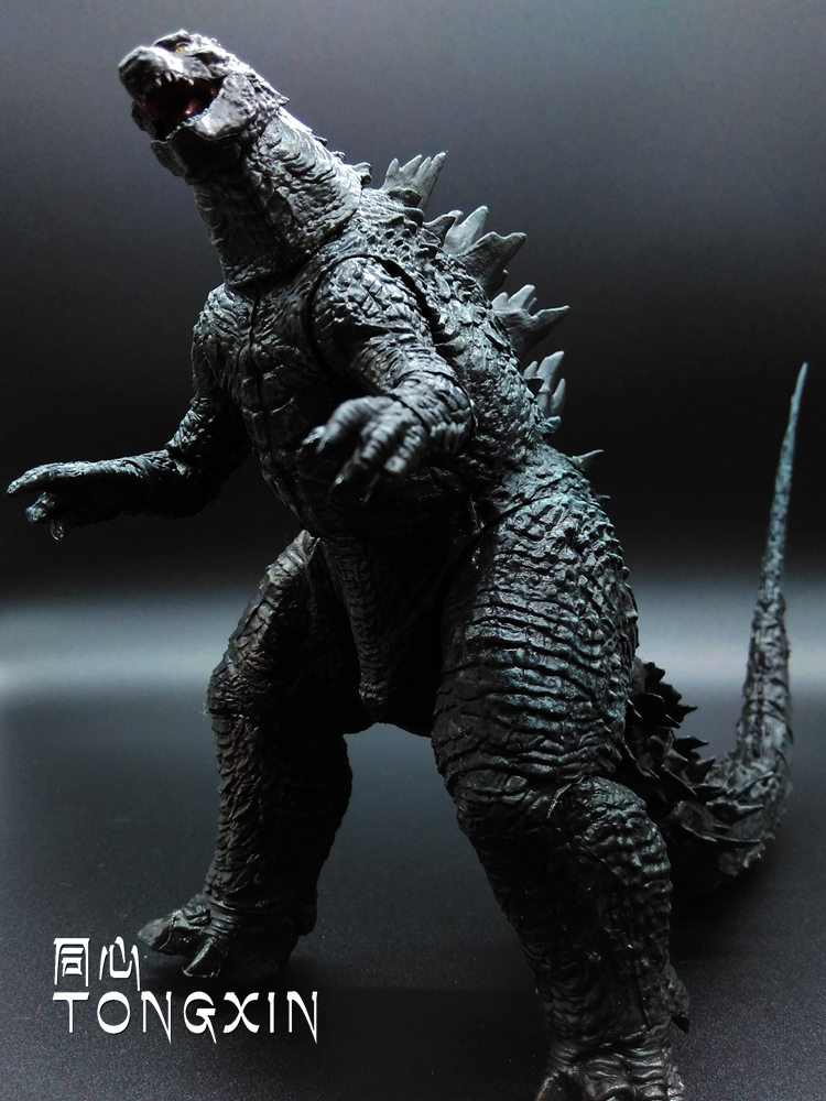Godzilla 2014 Movie Edition Joint Super Movable Action Figure Model Godzilla Monster Doll Toy W27 high quality classic toy super movable wrestler occupation wrestling fighter action figure mask toys doll accessories