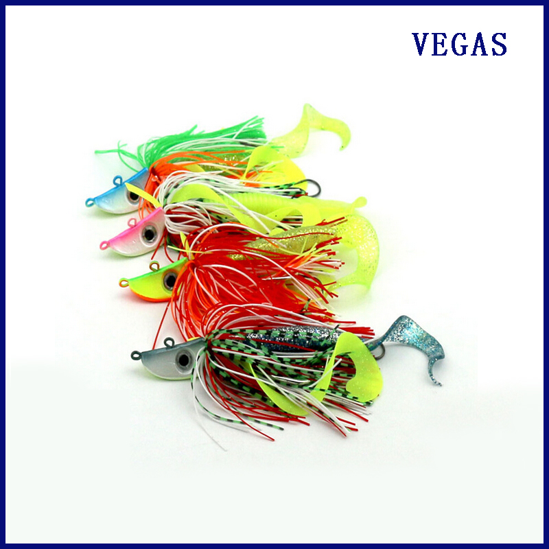 3 stykker New Jig Mutifuncational & super strong 50g Almighty Jig sjøvann og ferskvannsfiske lokke jig head Lake sea agn