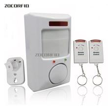 2 di telecomando di allarme a raggi infrarossi/casa di allarme/antifurto a distanza di allarme a raggi infrarossi cane elettronico nuovo speciale