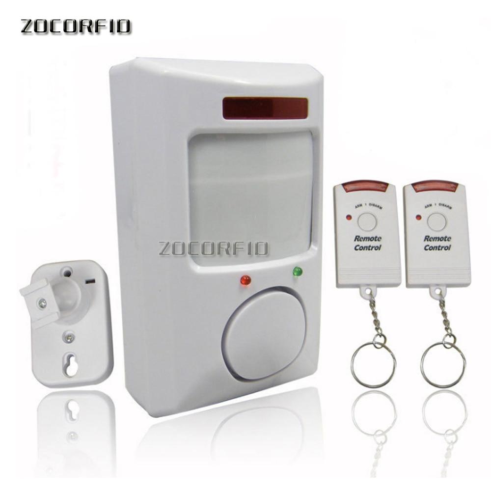 2 Remote Control Infrared Alarm /home Alarm /remote Burglar Alarm Infrared Electronic Dog New Special