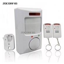 2 uzaktan kumanda kızılötesi alarmı/ev alarmı/uzaktan hırsız alarmı kızılötesi elektronik köpek yeni özel