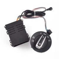 Chrome interruptor de luz do carro auto lâmpada sensor luz para vw golf 4 mk4 novo jetta mk4 passat b5 polo bora besouro 3bd 941 531 + automóvel|Chaves do carro e relé|   -