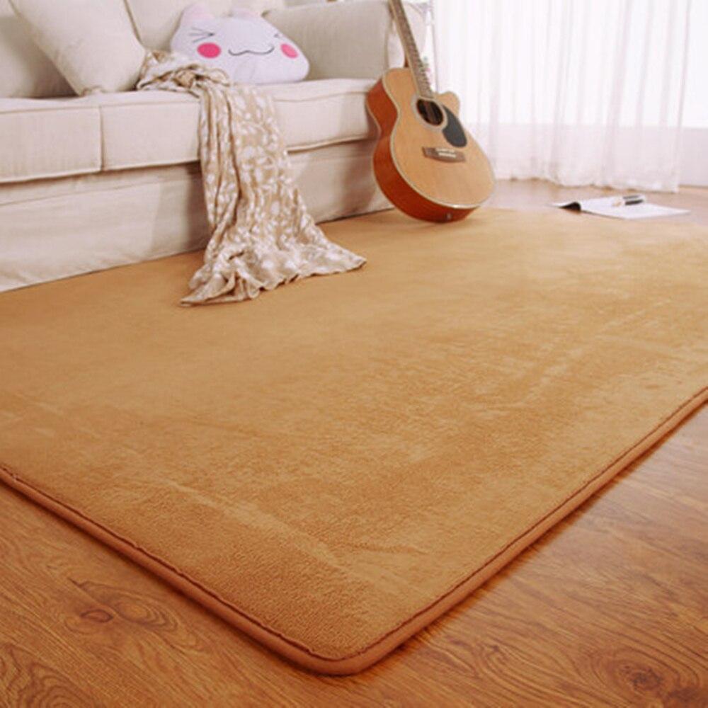 Tappeti Grandi Da Esterno us $22.87 33% di sconto moderno solido di modo di gomma piuma di memoria di  grandi dimensioni piano zerbino spazio esterno tappetini camera da letto