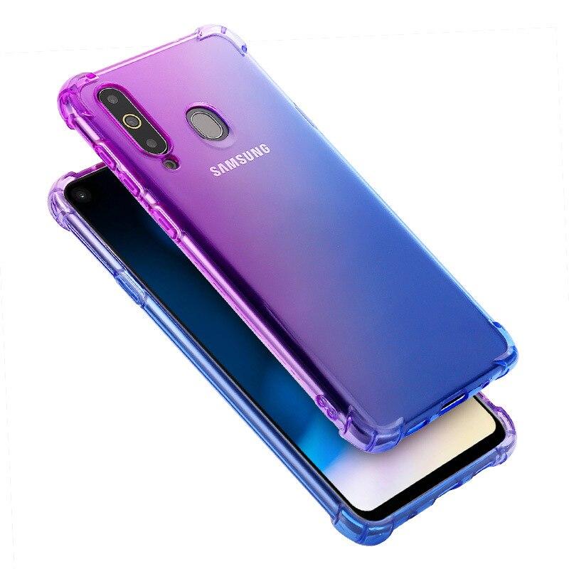 100 unids/lote para Galaxy A30S A50 A30 A40 A10 A70 a prueba de golpes caso del TPU de la caja del Gel del TPU caso para Samsung Galaxy m10 M20 M30 A40S-in -En los casos from Teléfonos celulares y telecomunicaciones on AliExpress - 11.11_Double 11_Singles' Day 1