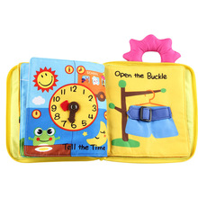 ChildrenS Books Quiet Early Education Estimulacion Sensorial Enlightenment Colour Practice Hands Cloth Book Learning Resources