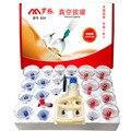 24 PCS Corpo de Dispositivos de Vácuo Do Tanque De Vácuo Cupping Dispositivo de Cuidados de Saúde Terapia Magnética Massagem Terapêutica Ventosas Aparelhos