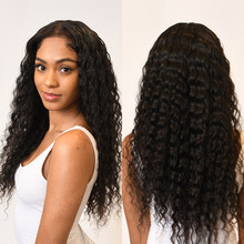 13x4 Lace Front Human Hair Wigs Brazilian Wet And Wavy 13x6 Lace Wigs Remy Hair Natural Wave 28 Inch Cheap Wigs For Black Women(China)