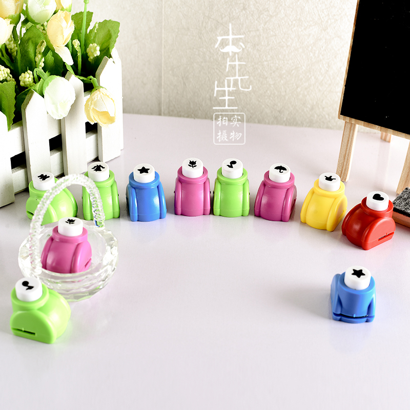 Arts and Crafts DIY Craft Punch Paper Punch Kids Crafts Supplies Photo Album Scrapbooking Journal Decoration DIY Hole Punch