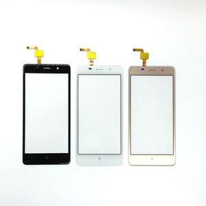 Image 1 - BQ BQS 5022 BQS 5022 bağ Sensörü dokunmatik Akıllı Telefon Dokunmatik Panel Cam Dokunmatik Ekran Değiştirme ile 3 m sticker