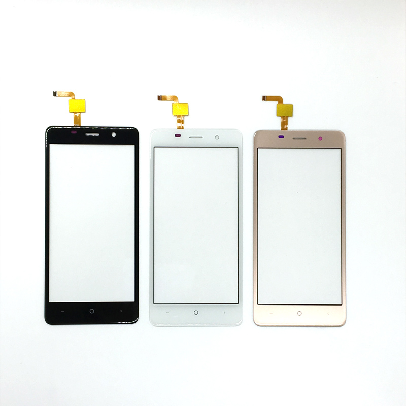 For BQ BQS-5022 BQS 5022 Bond Sensor Touch Smartphone Touch Panel Glass Touchscreen Replacement With 3m Sticker