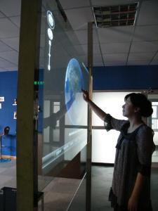 On sale! Best price 84 Real 6 Points lcd interactive touch foil film through glass shop window for touch kiosk, table etc