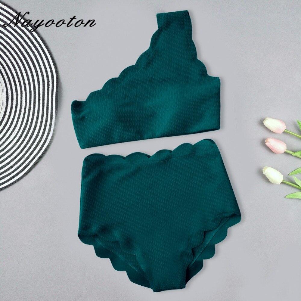 סקסי לדחוף את ביקיני סט פרחי מותן גבוהים בגדי ים נשים מיוחד בד מוצק ביקיני בגד ים רחצה רחצה חליפות 2019
