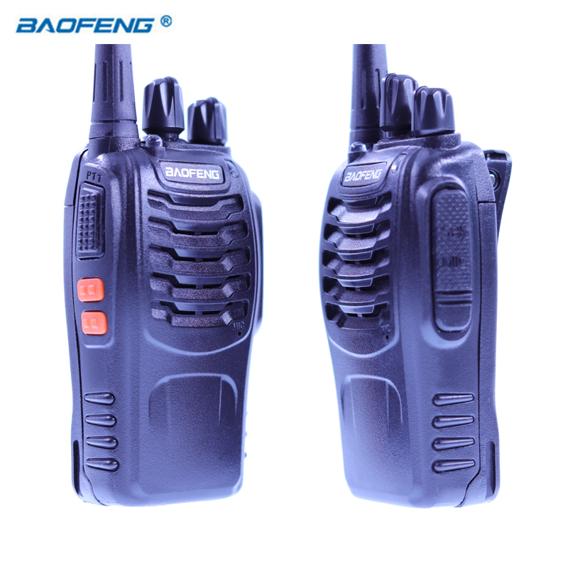 2 PCS Baofeng BF-888S Walkie Talkie Radio Portable Transceiver UHF CB Radios HAM BF 8S Communicator Stereo