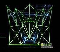 Современный DJ Pro стол событий II портативный диджейская портативная установочная фасада + огни Ночной клуб, бар, дома вечерние, открытый, собы