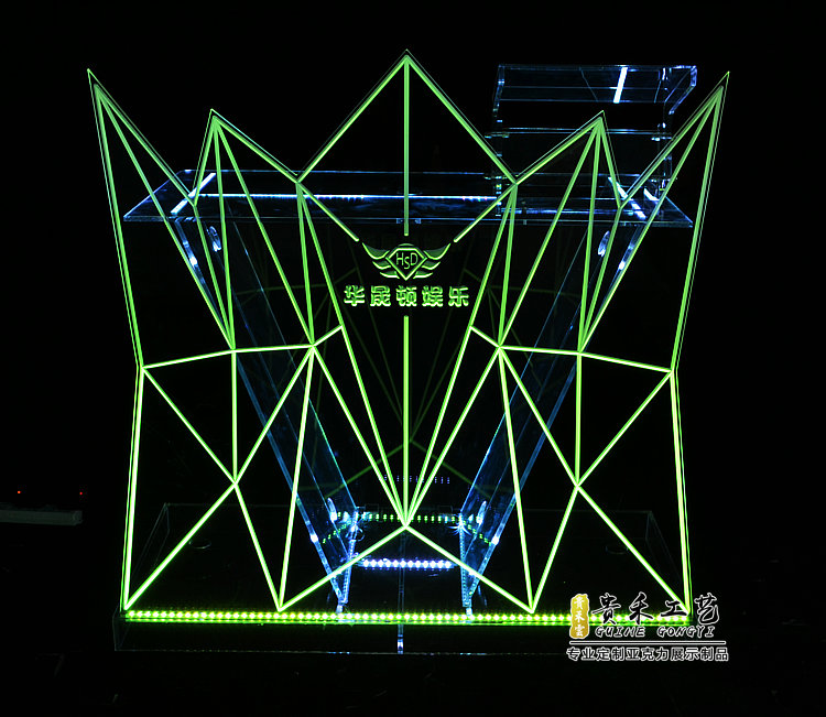 Modern DJ Pro Event Table II Portable DJ Booth Truss Facade+Lights Nightclub, Bar, Home,party,outdoor ,events Usage