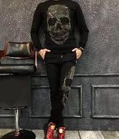Костюм комплект из 2 частей Для Мужчин's streest одежда спортивный костюм мужской толстовка с длинными рукавами наивысшего качества p871