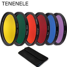 40.5mm 43mm 46mm 52mm 55mm 58mm 62mm 67mm 72mm 77mm 82mm Full Colour Filters Set For Canon Sony Nikon Camera Lens Accessories