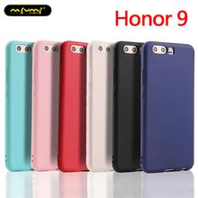 Honor 9 Case Silicone Soft TPU Cover case for huawei Honor9 Crystal Clear and Matte Candy solid colors Back shell