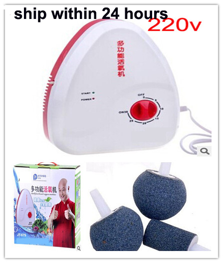 Portable Active Ozone Generator ozonizer air water Sterilizer Air purifier Purification Fruit Vegetables water food Preparation multifunction ozone generator washing fruit and vegetable detoxification machine sterilizer food ozonizer air purifier