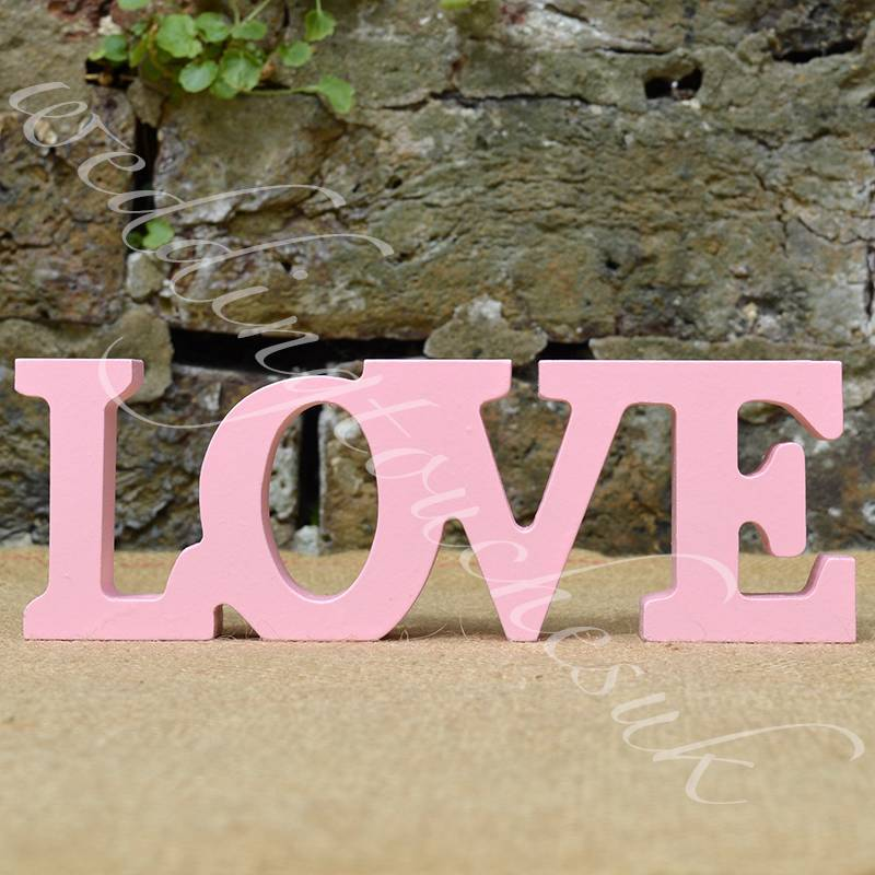 Free shipping wedding decoration wall hanging wooden for Decoration 11 letters