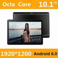 2017 New 10 Inch Octa Core 3G Tablet 4GB RAM 32GB ROM 1920 1200 Dual Cameras