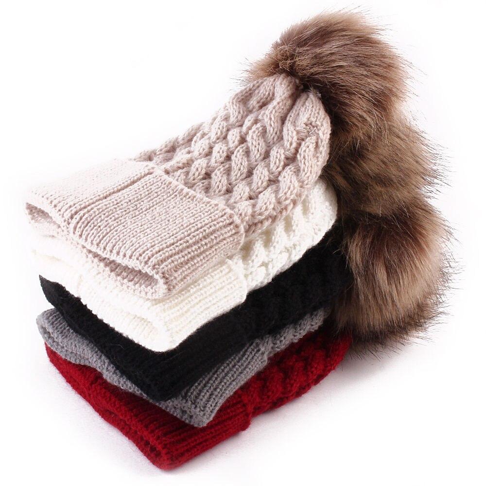 New Cute Baby Hat Toddler Kids Boys Girls Knitted Crochet Autumn Winter Warm wool Hat Beanie Cap