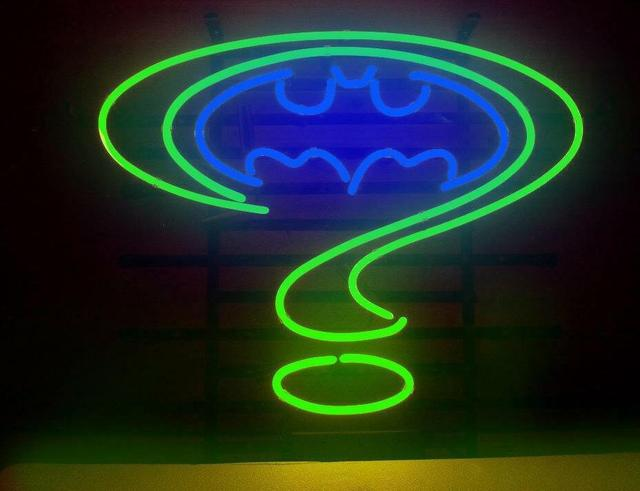 Custom Batman Forever Glass Neon Light Sign Beer Bar