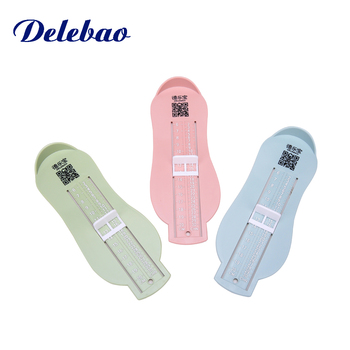 2 Regla Simple para medir zapatos de bebé niños PIE de bebé zapato herramienta de medida de tamaño regla de dispositivo infantil