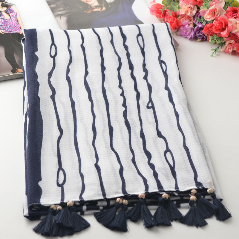 Winter Cotton striped scarf,Muslim hijab,shawls wrap,cotton tassel head scarf,british style,shawls and scarves,ponchos and capes