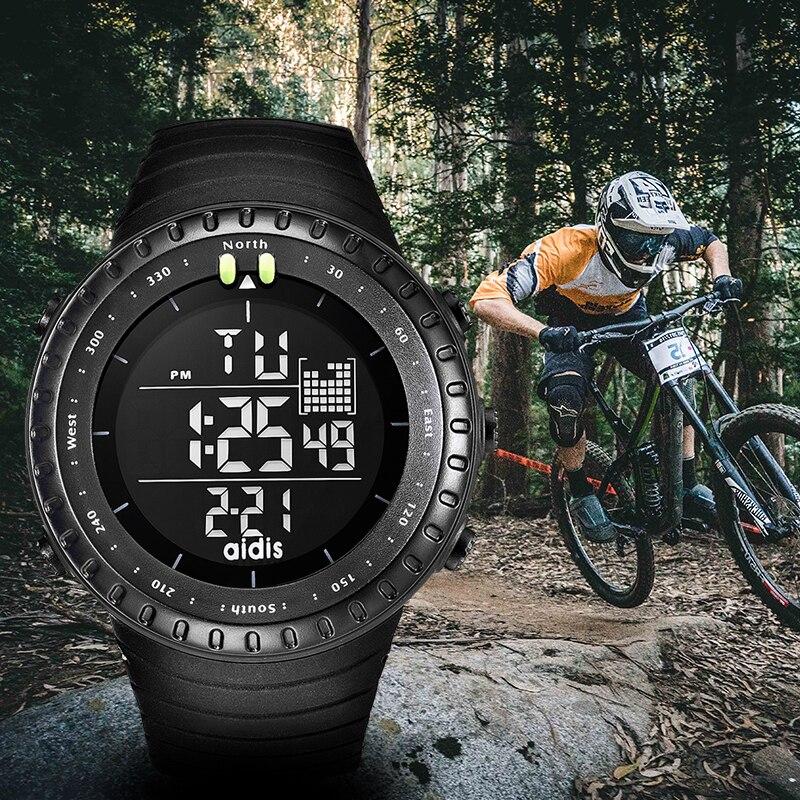 Addies Multi-Function Watch Clock Military Men New-Fashion Man Black LED Sport Digital