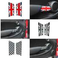 Upgrade Interior Door Pull Covers Trim Set for MINI Cooper R55 R56 R57 R58