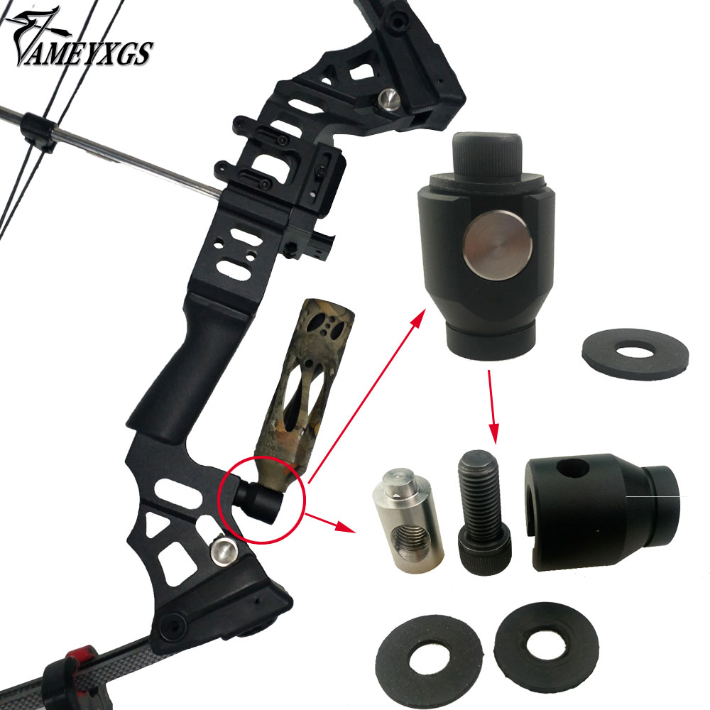Archery Bow Stabilizer Mounting Bracket Compound Bow Quick Detach Removeable