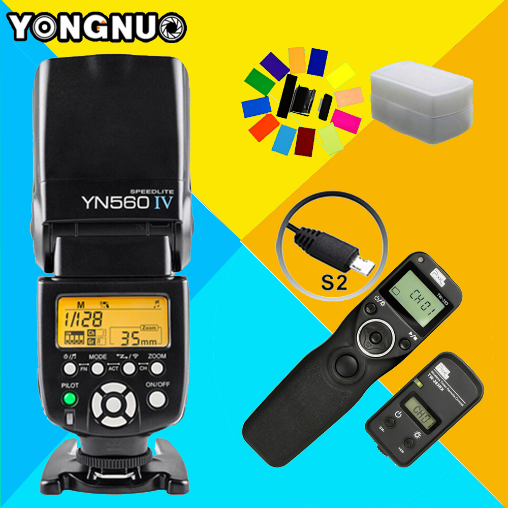 YONGNUO YN560IV YN560 IV Wireless Flash Speedlite & Pixel TW-283 S2 Timer Remote Control For Sony A58 A6000 A7 A7r A3000 RX100II византийская армия iv xiiвв
