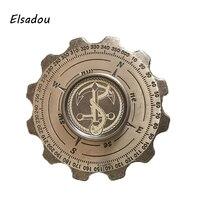 Elsadou Pirates EDC Handspinner Creative Fidget Cube Metal Fidget Spinner