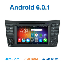 8 core Android 6.0.1 Car DVD Player for Benz W209 W211 W219 W463 E200 E220 E240 E270 E280 E300 E320 E350 with Radio WiFi BT GPS