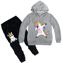 Z&Y 2-16Y Dabbing Animal Kids Hoodie Pants New Baby Boys Spring Autumn Causal Sports Suit 2pcs Set Tracksuits Kids Clothing Sets цена в Москве и Питере