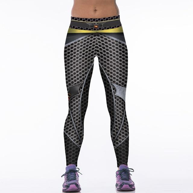 6923c3f117 NEW 88004 Sexy Girl Women Comics Batman Superhero Metallic mesh 3D Prints  High Waist Workout Fitness Leggings Pants-in Leggings from Women's Clothing  ...