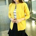 Venta caliente de la Mujer Suéter de Cachemira Suéter de La Rebeca Femenina de Punto Suéteres de Primavera Suéteres Delgados Mujeres Regular Solo Pecho