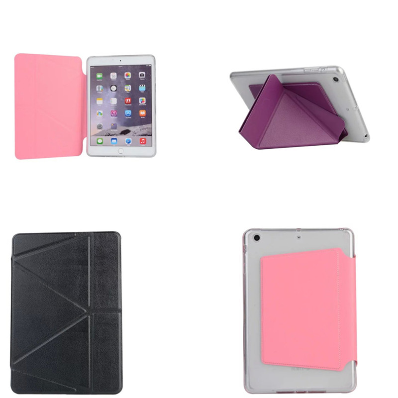 For mini2 mini3 Ultra Slim Magnetic Smart Flip Transformer Stand PU Leather With TPU Cover Case For Apple iPad Mini 1 2 3 eu stock ultra slim magnetic smart flip stand pu leather cover case for apple ipad mini 1 2 3 retina intellectual dormancy