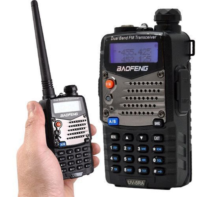 New walk talk Pofung Baofeng UV-5RA For Police Walkie Talkies Scanner Radio  Vhf Uhf Dual Band Cb Ham Radio Transceiver 136-174
