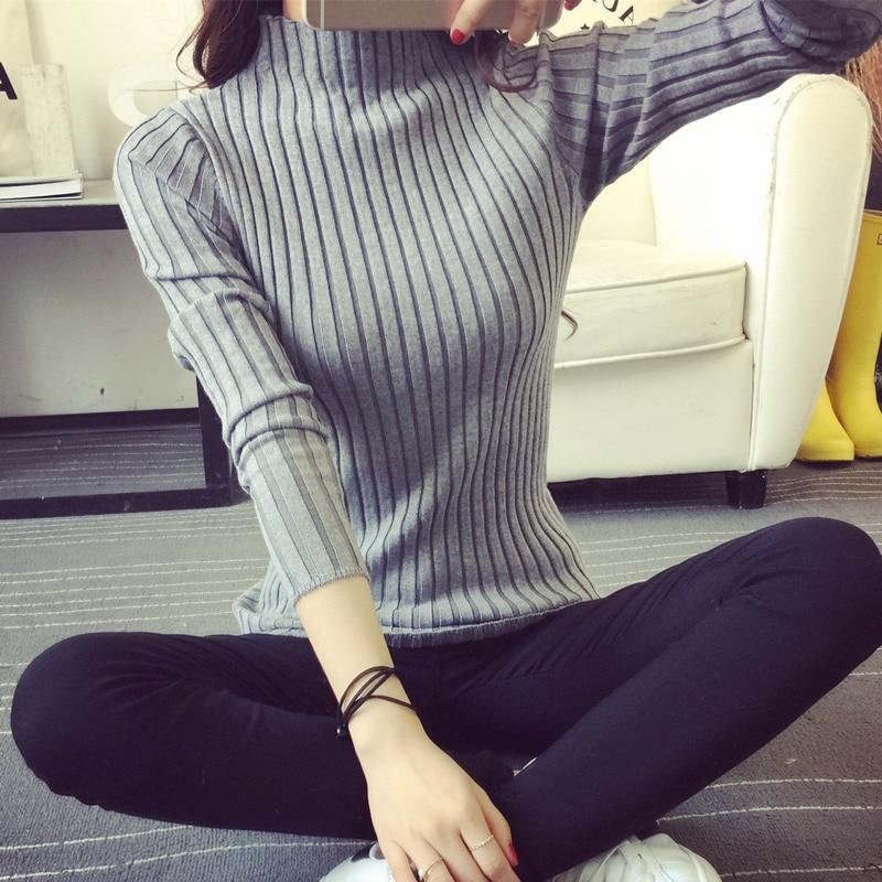 KINDERKLEDING 2018 Gratis Verzending Vrouwen Stretch Gebreide Hemd - Dameskleding - Foto 2