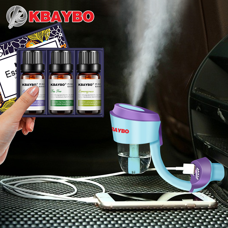Mini Portable Humidifier Car Aroma Diffuser Ultrasonic Humidifier Air Diffusers With Negative Ions Particles Rechargeable Use dmwd ultrasonic car air purifier solar energy office household aroma humidifier negative ions remove formaldehyde haze and pm2 5