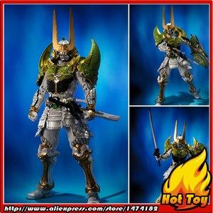 "Image 1 - BANDAI Tamashii Nazioni SIC SUPER FANTASIOSO CHOGOKIN Esclusivo Action Figure Kamen Rider Zangetsu Melone Braccia da ""Gaim"""